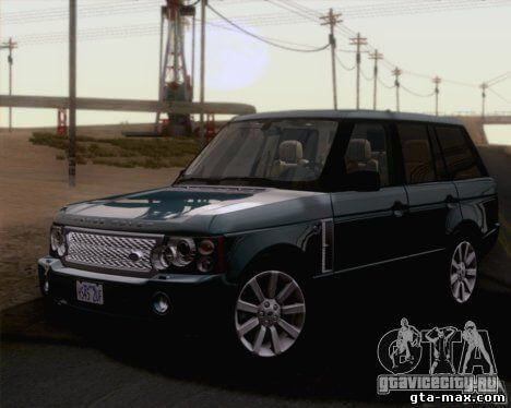 Land Rover Range Rover Supercharged 2008