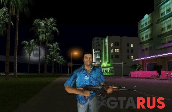 Tommy Vercetti Beta модель