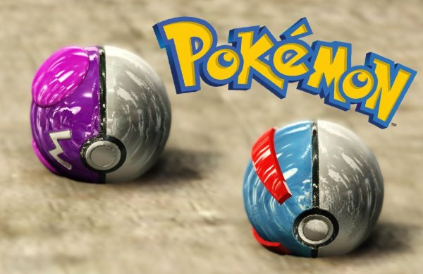 Master and Great Pokeballs