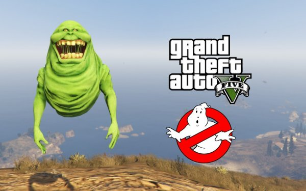 Slimer from Ghostbusters [Add-On Ped]