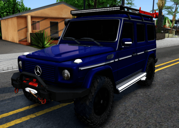 Mercedes-Benz G300 Professional для GTA San Andreas