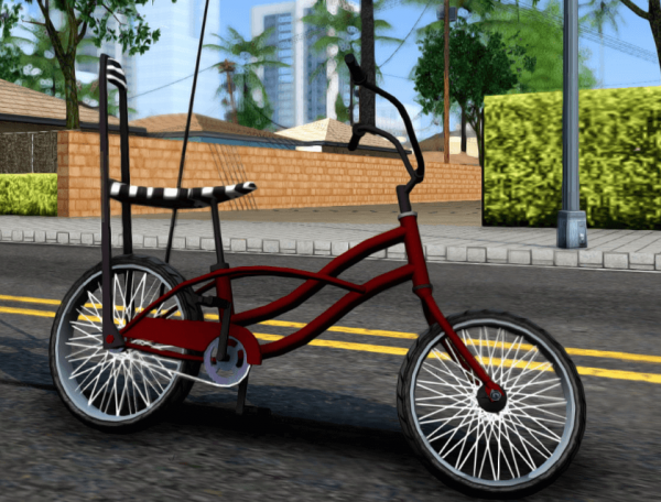 GTA SA Bike Enhance для GTA San Andreas.