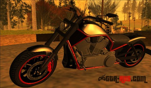 GTA V Western Motorcycle Nightblade